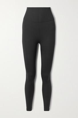 Nike Yoga Seamless Dri-fit Stretch-knit Leggings - Black