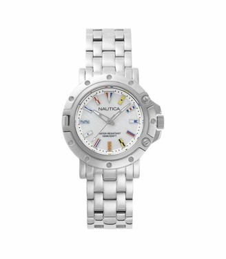 Nautica Womens Analogue Quartz Watch with Stainless Steel Strap NAPPRH005