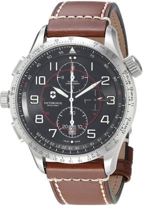 Victorinox Men's 241710 AirBoss Analog Display Swiss Automatic Brown Watch
