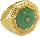 Sho London Aventurine Clementina Ring
