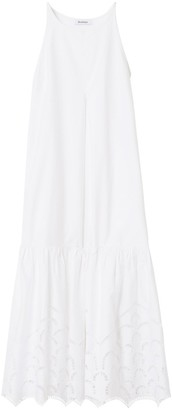 Rodebjer Hermosa Embroidery Dress in White