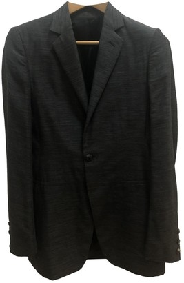 Rick Owens Anthracite Wool Jackets