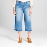 Mossimo Women's Plus Size Wide Leg Denim Crop