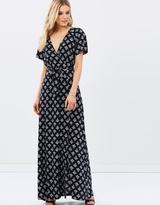 Doutzen Mock Wrap Dress