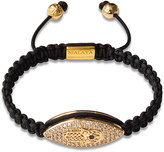 Nialaya Hamsa String Collection Bracelet in Black