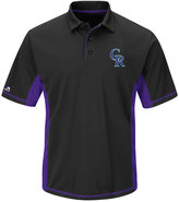Majestic Men's Colorado Rockies Top of the Inning Polo