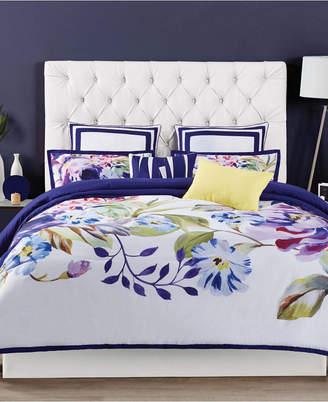 Christian Siriano Garden Bloom Full/Queen 3 Piece Comforter Set Bedding