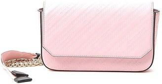 Givenchy Logo Striped Embossed Shoulder Bag