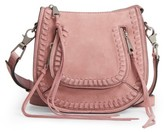 Rebecca Minkoff Mini Vanity Leather Saddle Bag - Pink