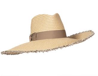Eric Javits Caroline Oversized Fringe Fedora Hat