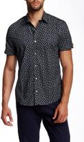 Parke & Ronen Delta Printed Short Sleeve Shirt