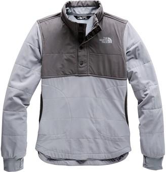 The North Face Mountain 1/4-Snap Sweatshirt - Girls'