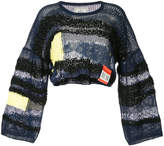 Miharayasuhiro cropped knit jumper
