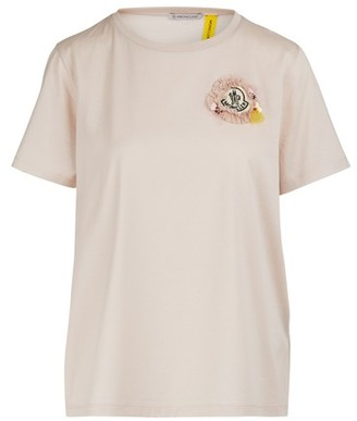 MONCLER GENIUS Moncler x Simone Rocha - logo T-shirt