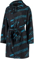 Key Stone Unbranded Women's Concepts Sport Black Carolina Panthers Keystone Hoodie Robe