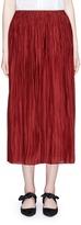 The Row 'Juri' plissé pleated silk skirt