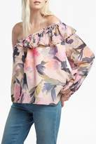 French Connection Catlett Georgette Blouse