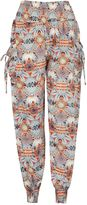 Izabel London Abstract Print Harem Pants