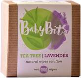 Baby Bits Wipes Solution, 2 Pack - Wets 2,000 Natural Wipes