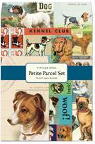 Cavallini & Co. 12-Pack Petite Vintage Dogs Parcel Set