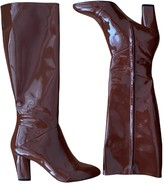 Marc Jacobs Burgundy Patent leather Boots