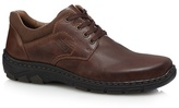 Rieker Brown Leather Lace Up Shoes