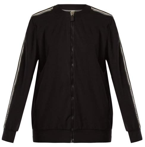 NO KA 'OI No Ka'oi - Nola Zip Through Performance Jacket - Womens - Black White