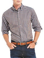 Daniel Cremieux Signature Herringbone Check Long-Sleeve Woven Shirt