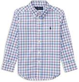 Polo Ralph Lauren Boys' Plaid Stretch Cotton Shirt - Little Kid