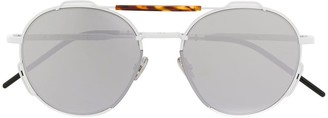 Christian Dior aviator frame sunglasses
