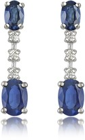 Tagliamonte Incanto Royale Sapphire and Diamond 18K Gold Drop Earrings