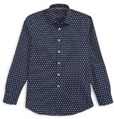 Report Collection Boy's Starburst Dress Shirt