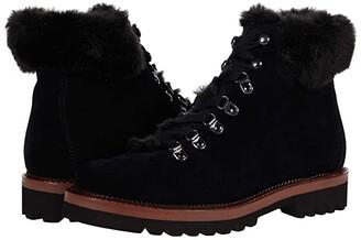 Blondo Honey Waterproof Bootie (Black Suede) Women's Boots