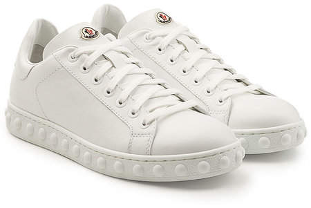 Moncler Fifi Leather Sneakers