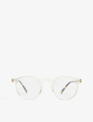 Oliver Peoples Gregory Peck round-frame optical glasses