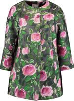 RED Valentino Floral-print scuba coat