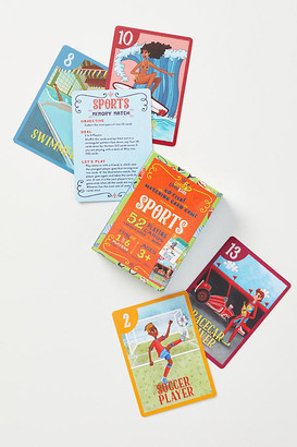 Sports Go Fish! Matching Card Game By Little Likes Kids in Assorted