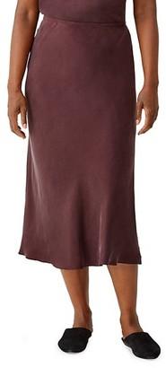 Eileen Fisher Midi Bias Skirt