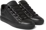 Balenciaga - Arena Full-grain Leather Sneakers