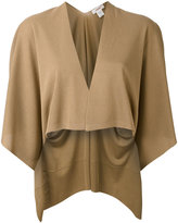 Jucca draped bolero - women - Polyester/Viscose - S