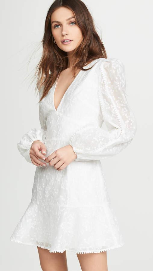 f60f3cf841d White Long Sleeve Dresses - ShopStyle