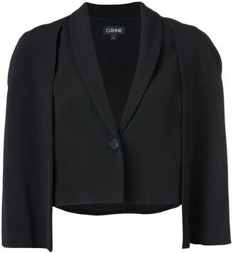 Cushnie Cape Style Jacket