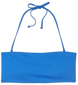 O'Neill Saltwater Solids Bandeau Top (Brown) Women's Swimwear