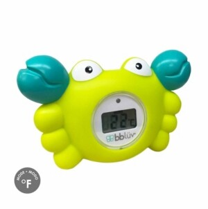 Bbluv Krab 3-in-1 Thermometer Bath Toy