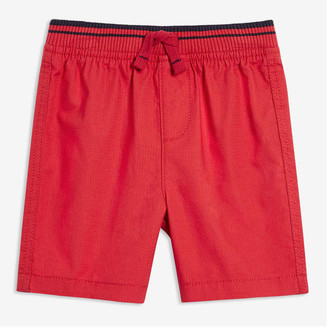 Joe Fresh Baby Boys' Rib Waist Shorts, Red (Size 3-6)