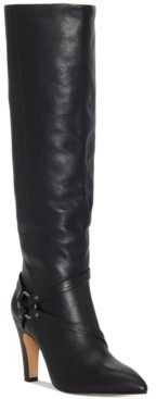 Vince Camuto Women's Charmina Wide-Calf Dress Boots Women's Shoes