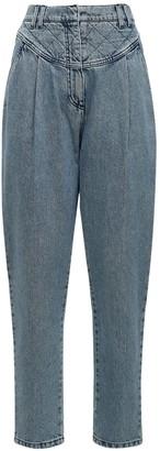 Philosophy di Lorenzo Serafini High Waist Denim Straight Leg Jeans