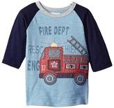 Mud Pie Firetruck T-Shirt Boy's T Shirt
