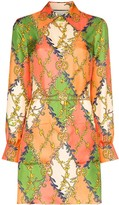 Gucci GG print mini dress