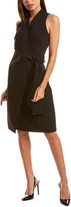 Donna Karan Midi Wrap Dress